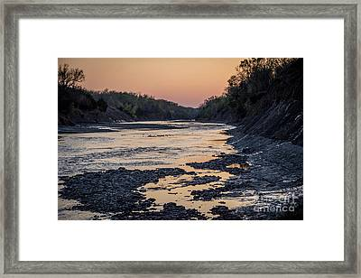 North Sulphur Framed Print
