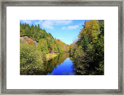 Northwoods Reflection Framed Print