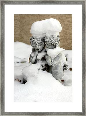 Not-so-famous Doughboy Framed Print
