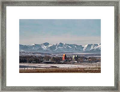 November Nanton Framed Print