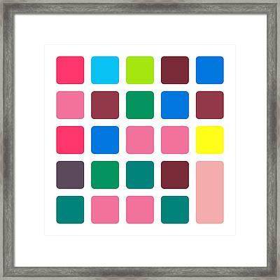 Nucle... Block Framed Print