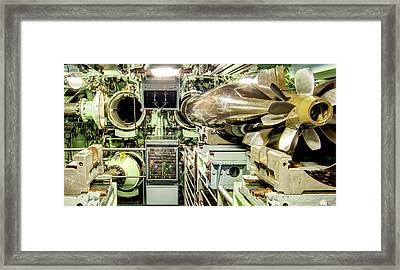 Nuclear Submarine Torpedo Room Framed Print