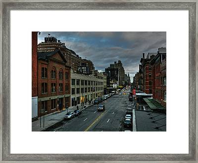 Nyc - High Line - Meatpacking District 002 Framed Print