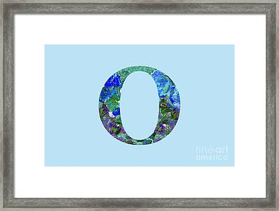 O 2019 Collection Framed Print