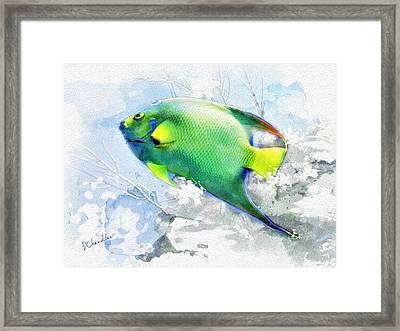 Ocean Colors Framed Print