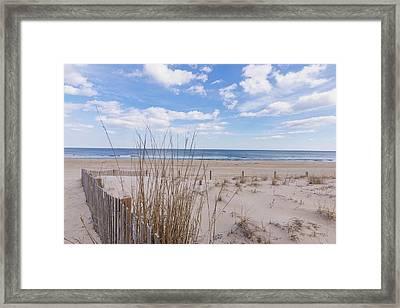 Ocean Dune Framed Print