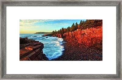 Ocean Energy Framed Print