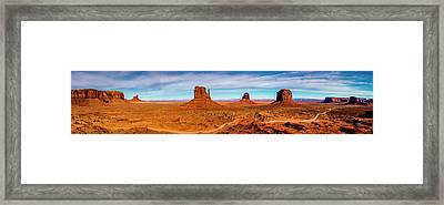Framed Print featuring the photograph Ocean Front Property In Arizona by David Morefield