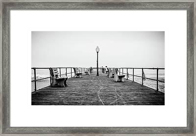 Ocean Grove Pier 1 Framed Print