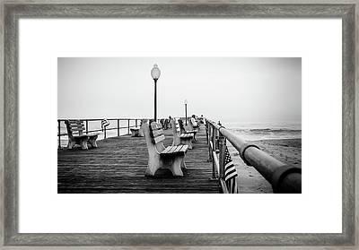 Ocean Grove Pier 2 Framed Print