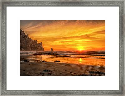 October Sunset Framed Print by Fernando Margolles