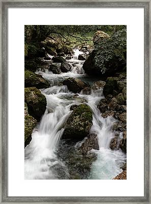 Framed Print featuring the photograph Odneselvi, Norway by Andreas Levi