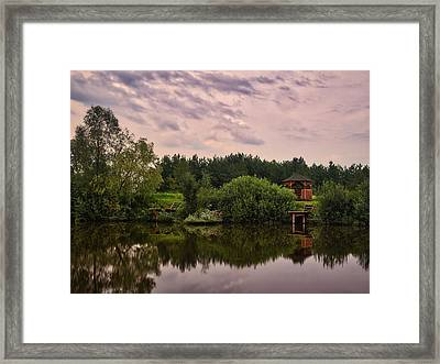 Framed Print featuring the photograph Of Reflections... Kolychivka, 2018. by Andriy Maykovskyi
