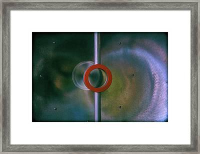 Off Center Framed Print