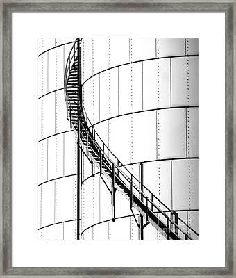 Oil Tank 2 Framed Print