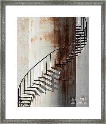 Oil Tank Framed Print