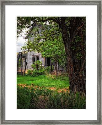 Old Farmhouse Framed Print