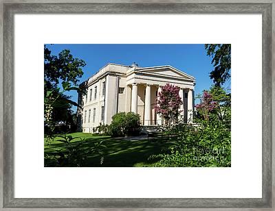Old Medical College - Augusta Ga Framed Print
