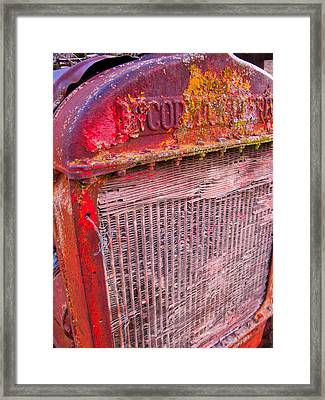 Old Red Framed Print