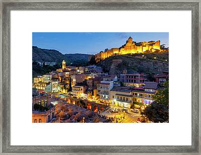 Framed Print featuring the photograph Old Tbilisi by Fabrizio Troiani