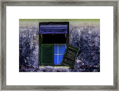 Old Window 2 Framed Print