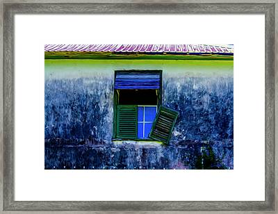 Old Window 3 Framed Print