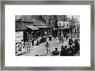 Olympic Marathon Framed Print by Hulton Archive
