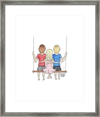 OMC Framed Print