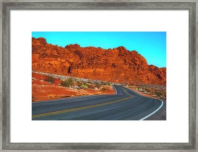 On The Road Again Framed Print by Fernando Margolles