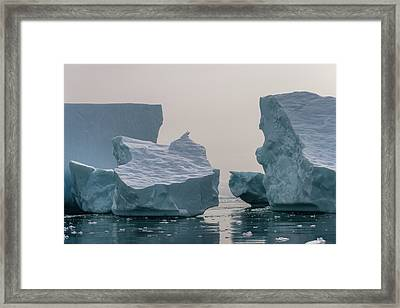One Cube Or Two Framed Print