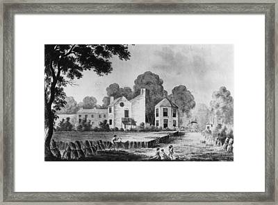 One Tree Field Framed Print by Hulton Archive