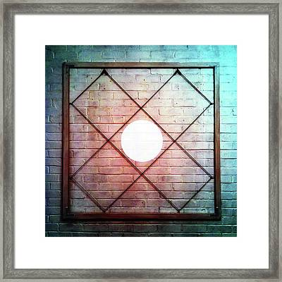 One - Wall Framed Print