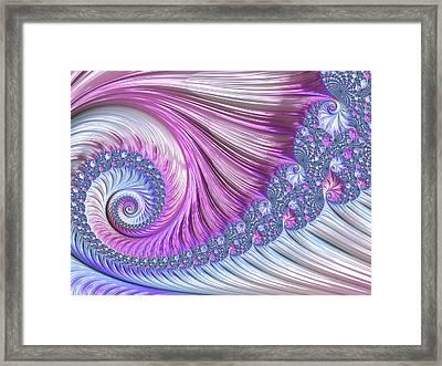 Opal Nautilus Framed Print