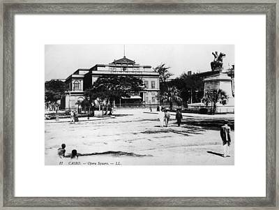 Opera Square Framed Print by Hulton Archive