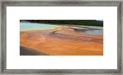 Orange River Framed Print
