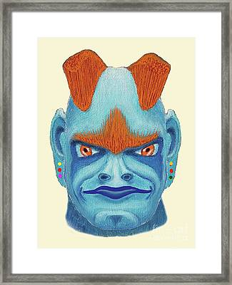 Orbyzykhan The Great Framed Print