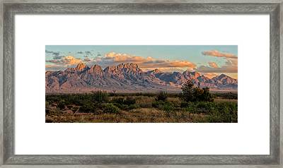 Organ Mountains, Las Cruces, New Mexico Framed Print