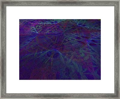Organica 4 Framed Print
