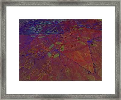 Organica 5 Framed Print