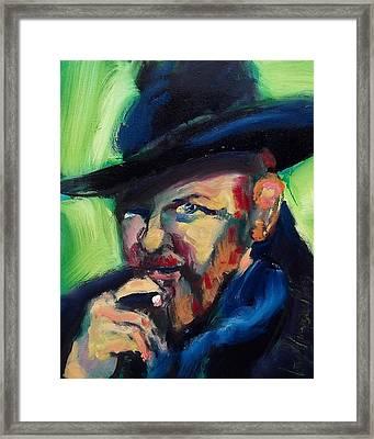 Orson Werlles Framed Print