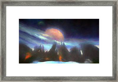 Other Worlds II Framed Print