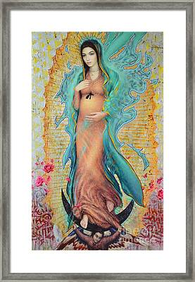Our Lady Of Guadalupe 3/4 Framed Print