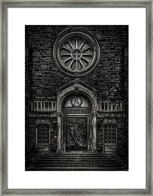 Framed Print featuring the photograph Our Lady Of Sorrows by Brian Carson
