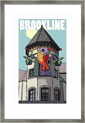 Our Mayor Framed Print