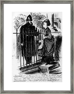 Outraged Public Framed Print by Hulton Archive