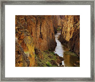 Owhyee River Framed Print by Leland D Howard
