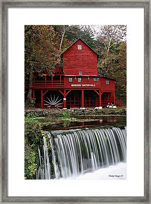 Ozarks Mill Framed Print