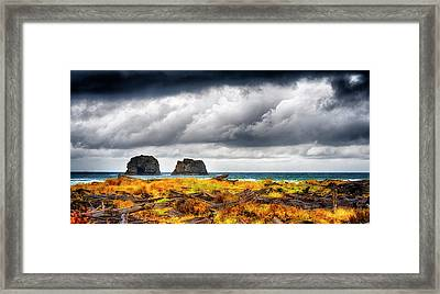 Pacific Storm  Framed Print