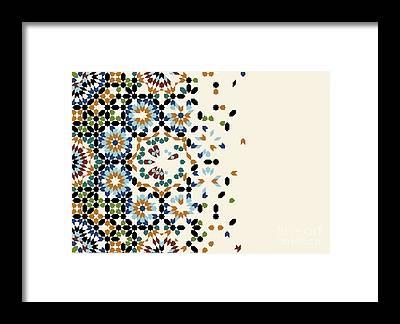 Disintegration Framed Prints