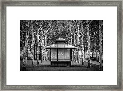 Pagoda Framed Print